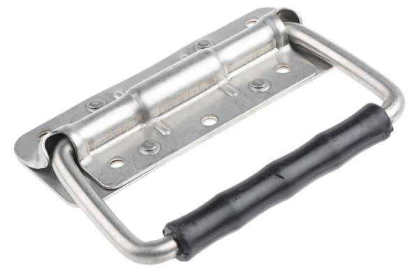 Product image for S/steel large springload folddown handle