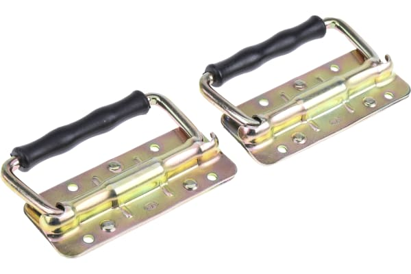 Product image for Steel small spring load fold down handle