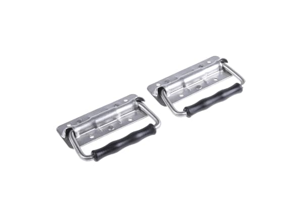 Product image for S/steel small springload folddown handle
