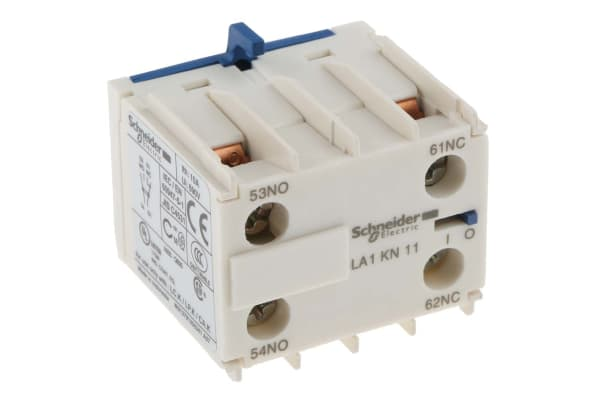 Product image for 1 NO 1 NC auxiliary contact,10A I(th)