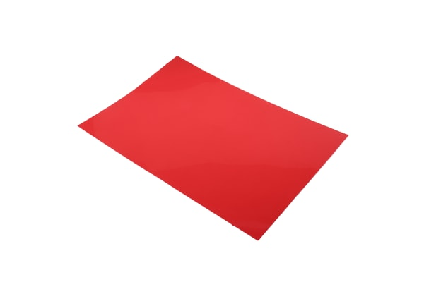 Product image for Plastic shim stock,18x12x0.015in 8sheets
