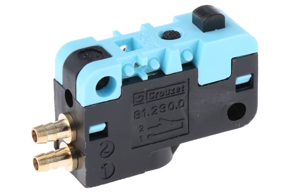 Product image for 4mm 3/2 NC micro switch valve
