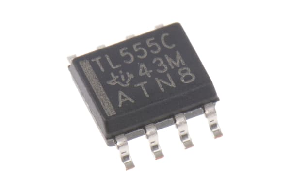 Product image for LINCMOS TIMER,TLC555CD 2.1MHZ SOIC8