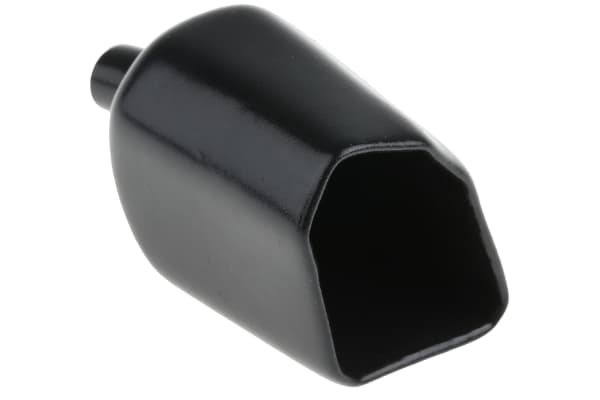 Product image for Bulgin Black PVC Insulation Boot for use with PF Range