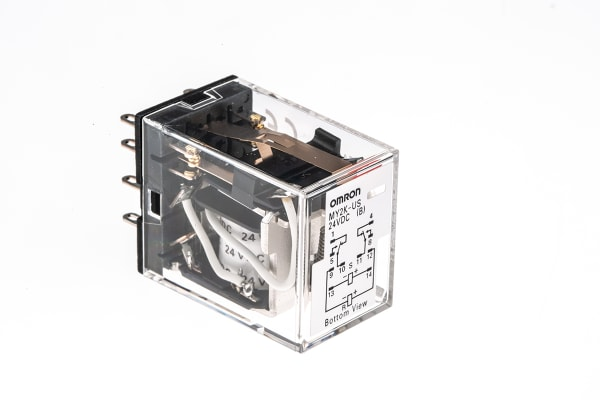 Product image for DPCO latching relay,3A 24Vdc coil