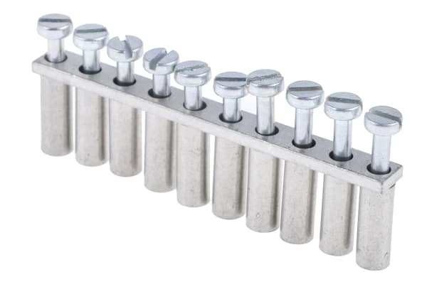 Product image for 10 way 2.5/4 jumper bar for terminal