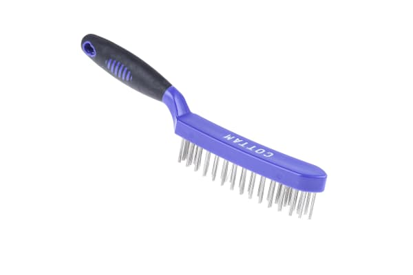 Product image for 4 row stainless steel wire brush