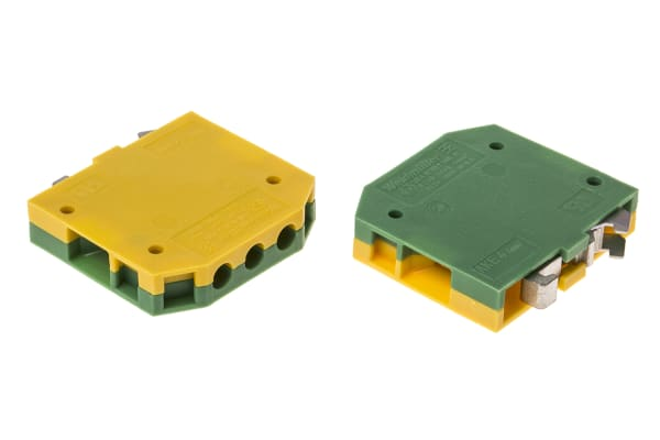 Product image for AKE DINrail earth min terminal connector