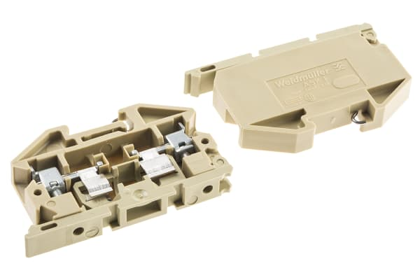 Product image for AKS1 FUSED TERMINAL CONNECTOR,6.3A 500V