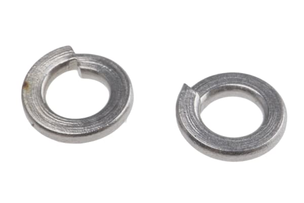 Product image for A2 stainless steel spring washer,M2
