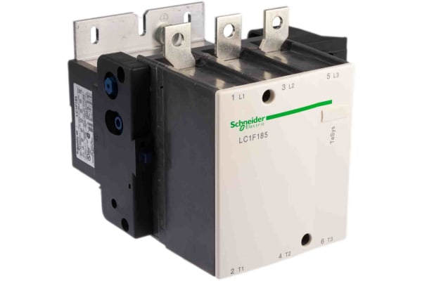 Product image for 3 pole contactor,100kW 185A