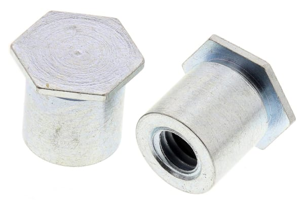 Product image for Blind self clinching stand-off,M3x6mm