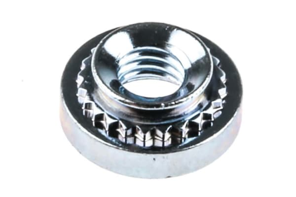 Product image for Panel fixing self clinching nut,No.2xM3