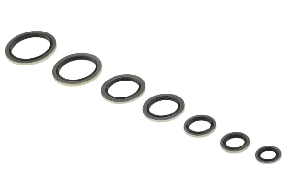 Product image for Metric nitrile/MS bonded seal kit 2