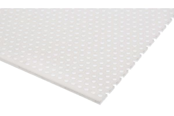 Product image for Perforated polypropylene sheet,3mm dia
