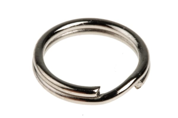 Product image for Replacement steel split ring,9.5mm OD