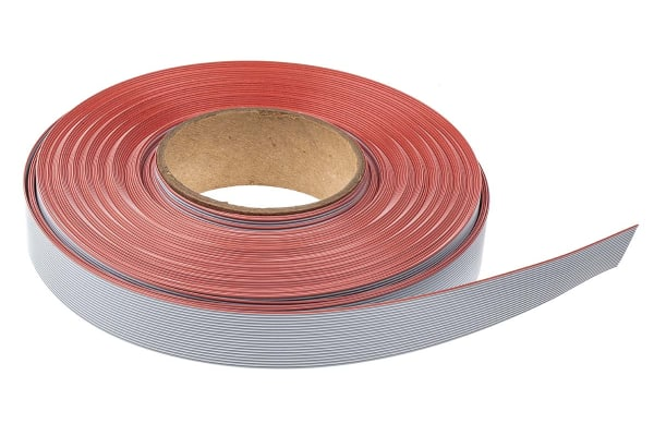 Product image for 3365 20 way IDC 0.05in. ribbon cable,30m
