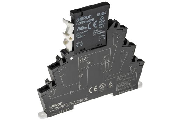Product image for Slimline  SSR 6mm  2 A, 24VDC