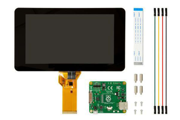 Product image for Raspberry Pi Touchscreen, LCD Touch Screen 7in Module for Raspberry Pi