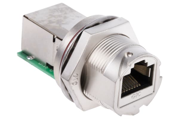 Product image for RJ45 Metal C3 Panel Jack Lock/Screw