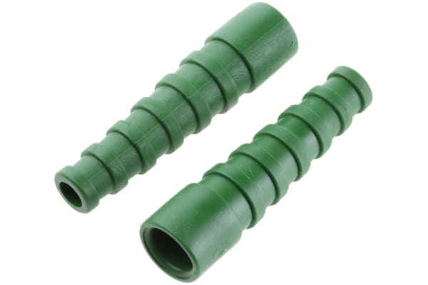 Product image for BNC STRAIN RELIEF,GREEN, RG58C/U, LMR195