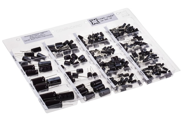 Product image for AL ELECTROLYTIC CAPACITOR KIT, CCC-14