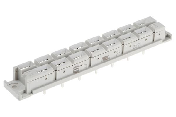 Product image for 15WAY DIN41612 PCB SKT W/4MM SOLDERSPILL