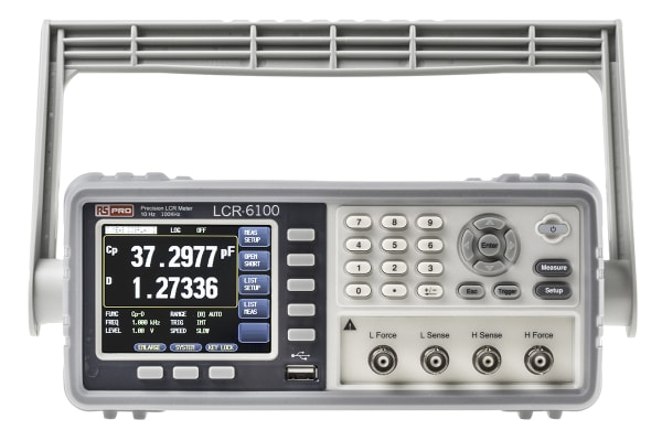 Product image for 100kHz high precision LCR meter,RS232
