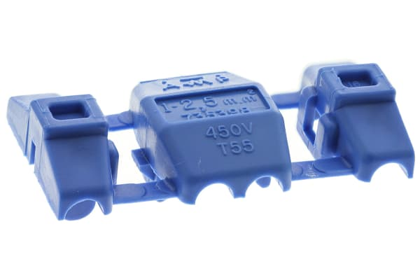 Product image for Blue electro-tap splice,1-2.5sq.mm wire
