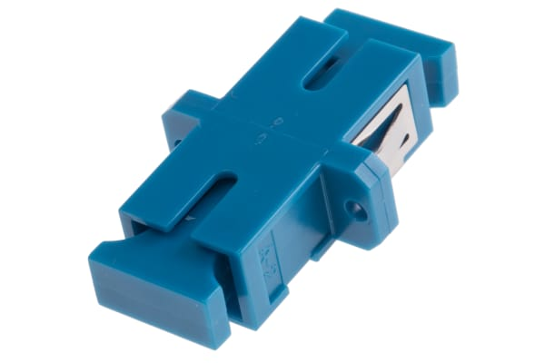 Product image for ADAPTOR SC SM BLUE-ZR-SX-METAL CLIP