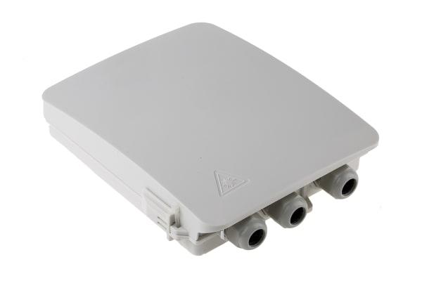 Product image for IP65 8 Fibre Terminal Box 2xGland 25