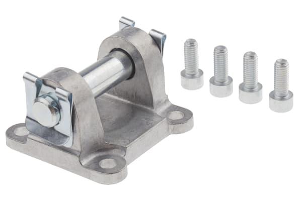 Product image for COATED ALUMINIUM SWIVEL FLANGE, 63MM