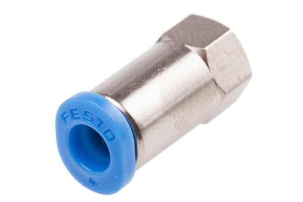 Product image for Push-in Fitting, Female M5, 4mm