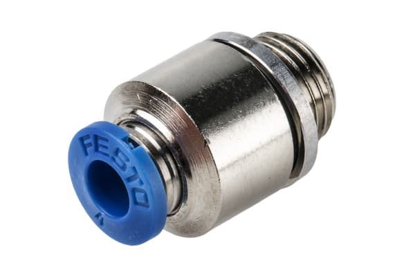 Product image for Push-in Fitting, Male G1/8, 4mm, Hex