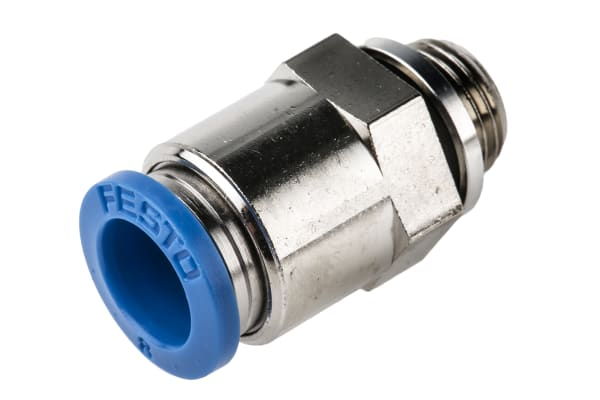 Product image for Push-in Fitting, Male G1/8, 8mm