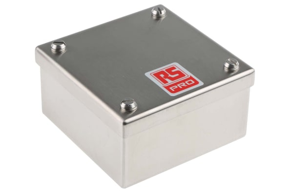 Product image for Stainless Stl adaptable box  100x100x50