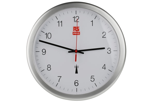 Product image for 300MM DIA RADIO CONTROLLED WALL CLOCK