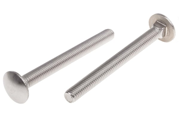 Product image for 8X80 Coach Bolts A2 Stainless Steel
