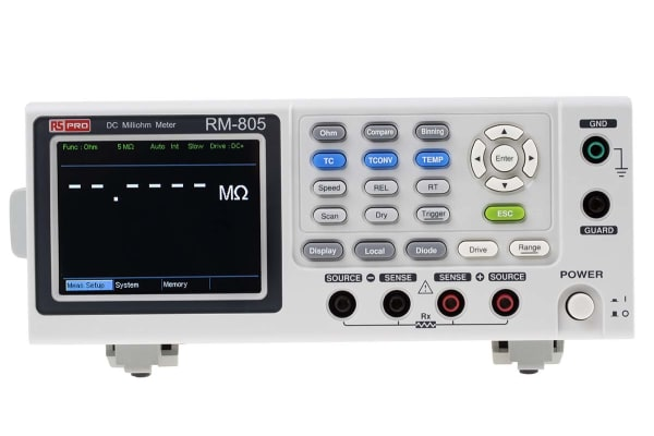Product image for Ohmmeter with handler,RS-232C,USB,GPIB