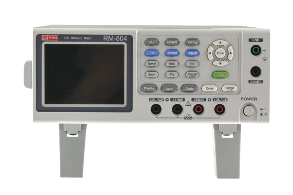 Product image for Ohmmeter with handler,RS-232C,USB device