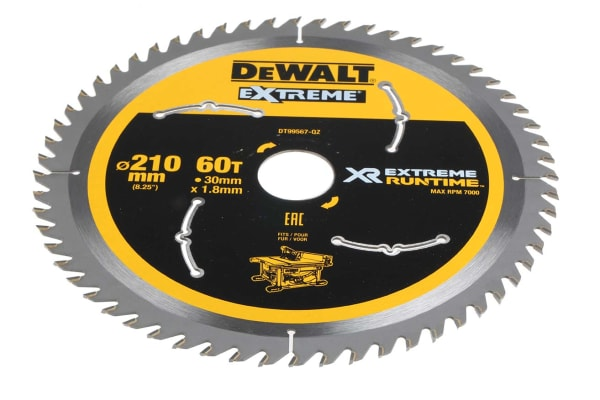 Product image for XTREME RUNTIME 210MM X 30MM 60T CSB