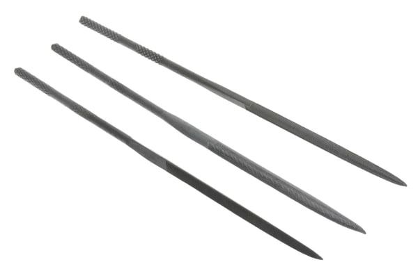Product image for 12 PIECE NEEDLE FILE SET 140MM LONG