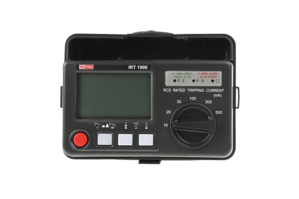 Product image for Digital RCD Tester, 500 mA trip