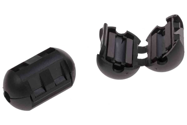 Product image for Hinged Ferrite Sleeve, Max 4mm cable