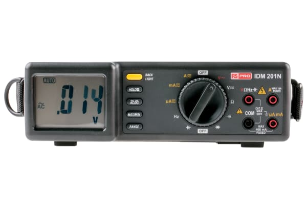 Product image for RS Pro IDM201N Digital Multimeter