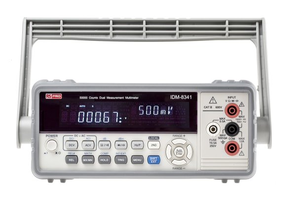 Product image for Dual measure multimeter,USB
