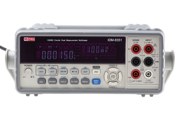 Product image for 120000 count dual measurement multimeter