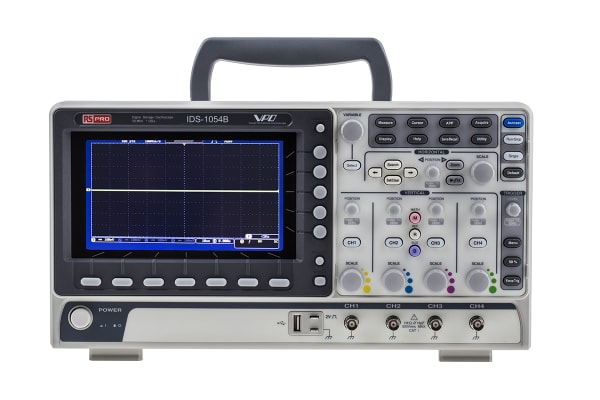 Product image for Digital Storage Oscilloscope,50MHz,4Ch