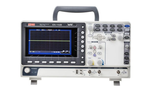 Product image for Digital Storage Oscilloscope,100MHz,2Ch