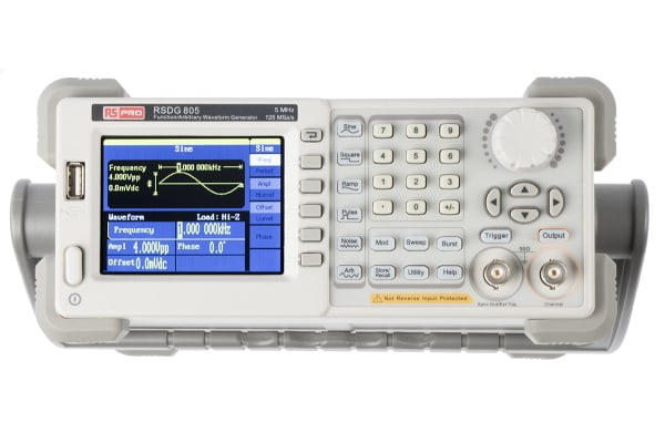 Product image for Waveform generator 5MHz,1 channel